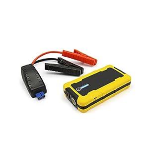 MAXTOOLS JSL280, Avviatore d'Emergenza 1500A al litio per vetture di grande cilindrata diesel e benzina, Booster 12V potente e sicuro, Battery Bank con prese USB