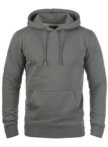 !Solid Bert Herren Kapuzenpullover Hoodie Pullover Mit Kapuze Und Fleece-Innenseite, Größe:XL, Farbe:Grey Melange (8236) Camouflage-fleece-pullover