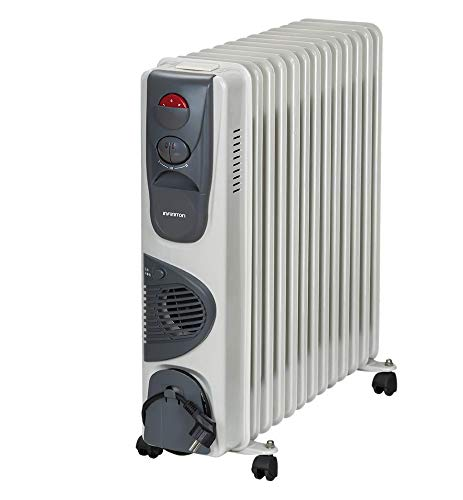 IN RADIADOR DE Aceite INFINITON Desde 700W/3000W Control de Temperatura con termostato mecánico, 3...