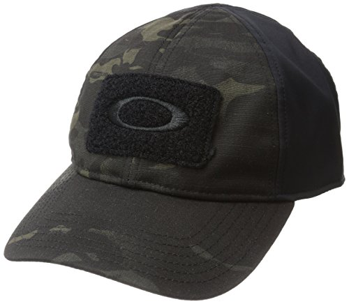 Oakley Herren 911630A-02L Baseball-Cap, Black Multicam, FR : L (Taille Fabricant : L/XL)