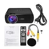 Proiettore digitale portatile U80 7000 LM Proiettore LED HD 1080P Mini Home Theater multimediale EU EU UK AU Plug