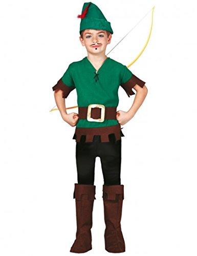 üm für Kinder Gr. 110 - 146, Größe:140/146 (Robin Halloween-kostüm Für Kinder)