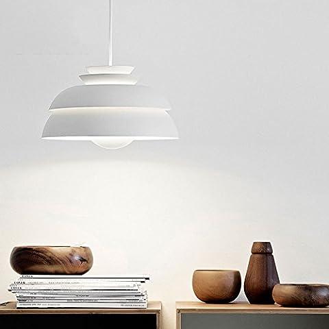 La personnalité moderne,Restaurant,Bar,lustre,lampe art café,les concerts,lustre lustre aluminium PH,55cm