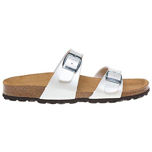 Sole Paloma Damen Sandalen Weiß Weiß