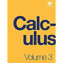 Calculus Volume 3 (English Edition)