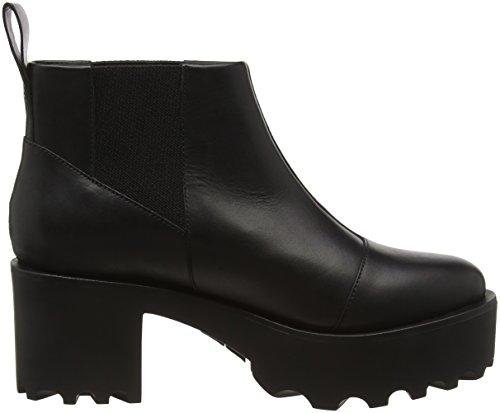 Cheap Monday Latch, Bottes Classiques femme Noir (Black 200)
