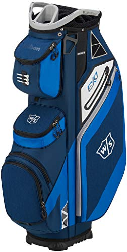 WILSON Herren W/S EXO CART Golftaschen, Blau, One Size