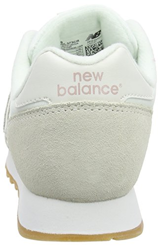 New Balance Wl373, Bottes Classiques Femme Blanc (Cream)