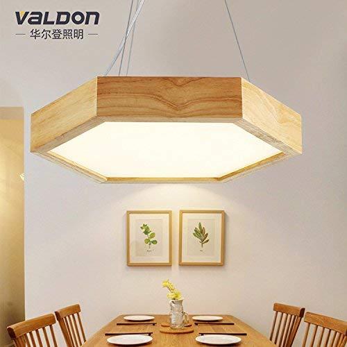 YT-ER Kronleuchter Pendelleuchte Pendelleuchte Moderne Zeitgenössische Lampen Massivholz Küche Wohnzimmer 52 cm Weiß Light100