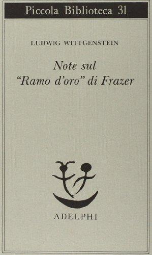 Note sul «Ramo d'oro» di Frazer
