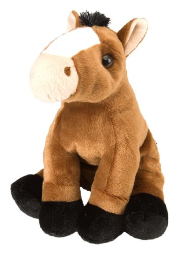 Wild Republic 30cm Europe Cuddlekins Horse