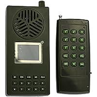 Altavoz de caza, 130DB, reproductor de mp3, 1800mA, recargable, con mando a distancia