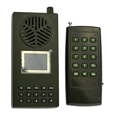 Outdoor Jagd Vogel Anrufer 130dB Lautsprecher, MP3-Player 1800mA Akku mit Fernbedienung Jagd Vogel Mp3-player