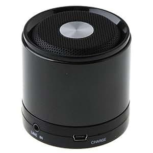 Enceinte Bluetooth Minispeaker metal noir