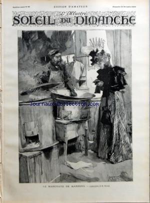 SOLEIL DU DIMANCHE (LE) [No 50] du 16/12/1894 - LE MARCHAND DE MARRONS - COMPOSITION DE MAROLD - UN EXORCISME EN 1891 - LA VISITE DE MILTON CHEZ GALILEE par Collectif