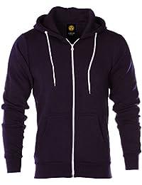 4cc17df5 Raiken® Apparel Flex Fleece Zip Up Hoody Hoodie Jumper Mens Size