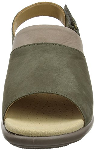 Col Multi Hotter Stone Augusta Brown Donna Tacco Scarpe Dk qH8xE8w1BP