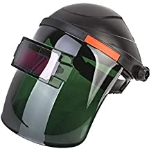 Leegoal Mascara de Soldadura Solar de Casco de Oscurecimiento Automático, Caretas para Soldar Fotosensible,