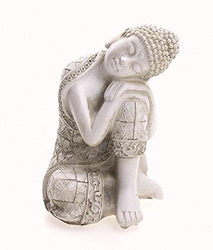 Figura Ganesha cuatro brazos sentado, estatua de latón altura 6,5 cm, dios...