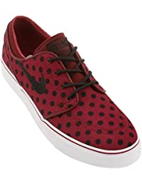 Nike Stefan Janoski Premium Canvas Team Red/Black Polka/White 9.5uk 44.5