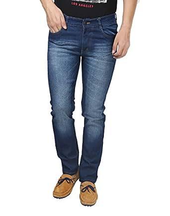 Trendy Trotters Mens Denim Jeans (Ttj1Crsl-D32 _Dark Blue _32)