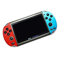 JVSISM 8GB 4.3 Portable Handheld Game Console HD Video Game Console Built-In 3000 Retro Classic Games for GBA FC Arcade