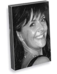 AMANDA TAPPING - Canvas Print (A5 - Signed by the Artist) #js014