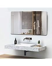 Quality Glass Glass Wall Mirror (18 x 24inch, Silver).