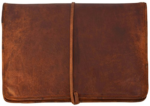 """Preisvergleich Produktbild Laptoptasche Gusti Leder """"Clay"""" Notebook-Tasche Aktentasche Ledertasche Büro Unitasche Collegetasche Vintage Notebook-Hülle Damen Herren Braun L10b"""
