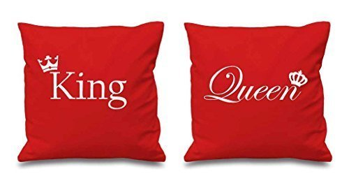 king-size-et-double-crown-rouge-housse-coussin-16-x-16-couples-coussins-st-valentin-anniversaire-pet