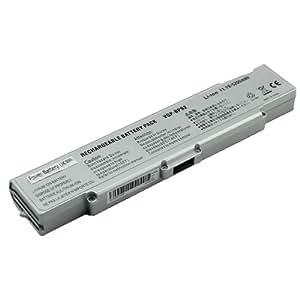 Power Battery UK - Sony VGP-BPS2, VGP-BPS2A, VGP-BPL2, VGP-BPS2B, VGP-BPS2C, VGP-BPL2C, VGPBPS2.CE7, VGPBPL2.CE7 de remplacement de batterie pour ordinateur portable (argent)