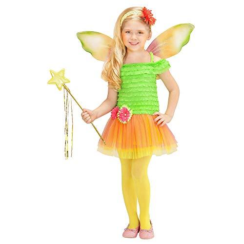 WIDMANN - Disfraz de hada para niños, multicolor, 116 cm/4 - 5 años, 2315