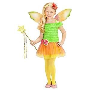 WIDMANN - Disfraz de hada para niños, multicolor, 110 cm/3 - 4 años, 2319