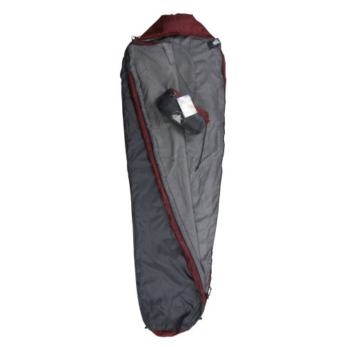 10t Outdoor Equipment 10T Hatfield 800 Saco de dormir de la momia, Gris, Estándar