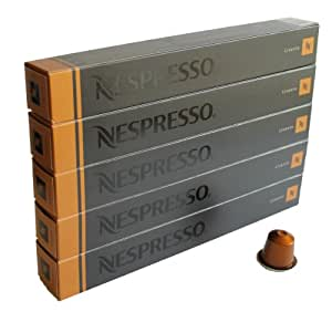 nespresso espresso livanto 5er pack 5 x 10 kapseln lebensmittel getr nke. Black Bedroom Furniture Sets. Home Design Ideas