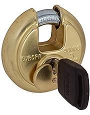 Europa Stainless Steel Disc Padlock P-370 B1 (Metallic)
