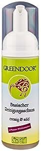 Pulizia schiuma più mite Greendoor base lozione per il viso, 2 tappe, 150 ml detergente / struccante