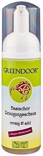 Greendoor milder basischer Reinigungsschaum Gesicht, echte 4,4 Sterne, 2 Phasen, 150ml...
