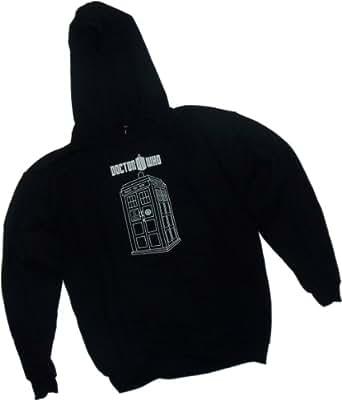 Tardis -- Doctor Who Adult Hoodie Sweatshirt (XXX-Large)
