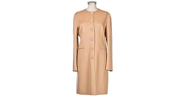 Damen Kaschmir Mantel Size 40 L: : Bekleidung