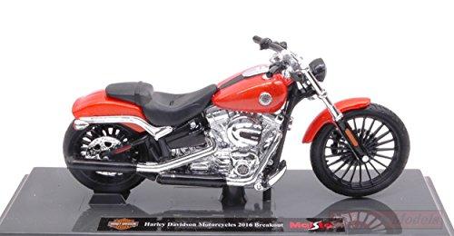 Maisto MI17083 Harley Davidson Motorcycles 2016 Breakout 1:18 MODELLINO DIE CAST kompatibel mit