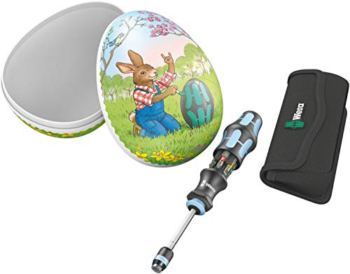 Wera 05134210001 Ostergeschenk mit Werkzeug, Osterei Kraftform Kompakt 20