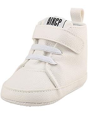 OverDose Unisex-Baby Jungen Mädchen Krippe Schuhe Prewalker Soft Sohle Turnschuhe Prewalker Sneakers Krabbel Hausschuhe