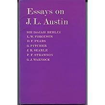 Essays on J.L. Austin by Isaiah Berlin (1973-06-07)