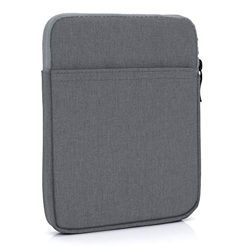 "MyGadget 6 Zoll Nylon Sleeve Hülle - Schutzhülle Tasche 6"" für eBook Reader/Smartphone/Navi z.B. Kindle Paperwhite, Apple iPhone XS X - Dunkel Grau"
