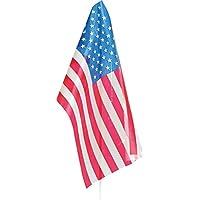 Verbetena - Bandera palo Estados Unidos, 20x30 cm, pack 25 unidades (011200020)