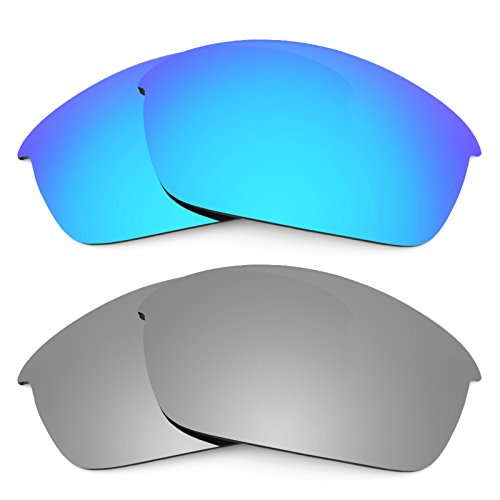 Revant Ersatzlinsen für Oakley Flak Jacket Polarisiert 2 Paar Kombipack K004