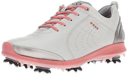 ECCO Damen Women's Golf Biom G 2 Golfschuhe, Grau (Concrete/Silver Pink), 41 EU