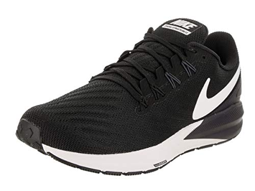 NIKE Air Zoom Structure 22, Scarpe Running Uomo, (Black/White/Gridiron 002), 44.5 EU