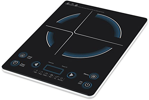 Taurus Slim Cook 2000-watt Induction Cooker (white And Black)